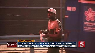 Rapper Young Buck Surrenders To Police - Video