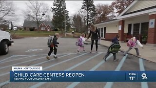 Child care centers reopen in Tucson