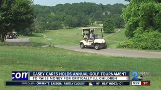 Casey Cares Foundation holds annual golf tournament - Video