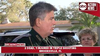 16-year-old girl, her mother killed in triple shooting in Brooksville; suspect now in custody - Video