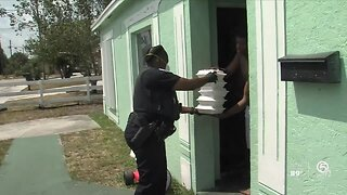 Riviera Beach police making special deliveries