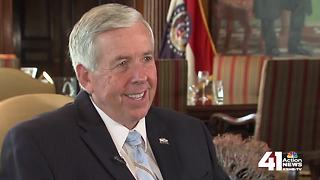 7 questions with Missouri Gov. Mike Parson - Video