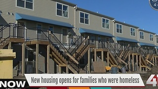 New KC housing opens for families who were homeless - Video