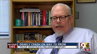 Monroe community supports victims of prom night crash - Video