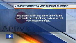 Appvion paper agreenent to sell - Video