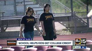 Southern Arizona school sees improvements in student achievement - Video