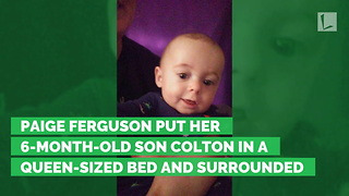 Mother Shares Heartbreak After 6-Month-Old Baby Rolls Off Bed - Video