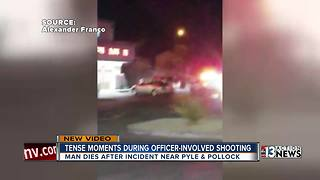 New video from officer-involved shooting
