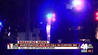 Questions remain about 911 call in cop's death