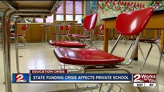 Private schools affected by public education funding crisis
