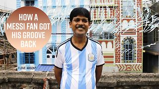 What a Messi fan did with his World Cup money - Video