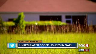 unregulated sober houses in swfl - Video