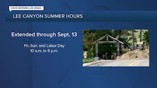 Lee Canyon summer hours