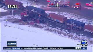 Train crash and separate double fatal crash in Weld County