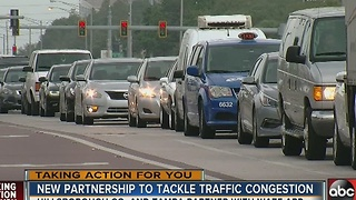 WAZE app to help ease Tampa area traffic congestion - Video