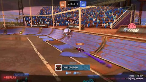 Close game in (rocket league)