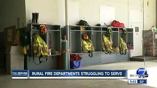 Rural fire departments struggling to serve communities - Video
