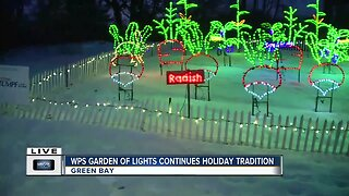 WPS Garden of Lights at the Green Bay Botanical Garden
