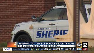 $1.2 million for added security in Harford County Schools - Video