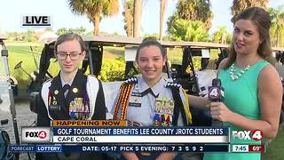 Golf tournament benefits JROTC student scholarship fund - 7:30am live report