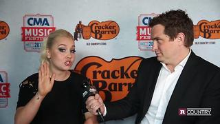 RaeLynn talks about her dad | Rare Country - Video
