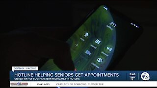 HOtline helping seniors get vaccine appointments