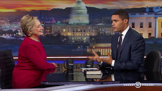 Hillary Clinton Draws The Line on Reproductive Freedom - Video