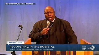 Congregation suspends services after Denver pastor is diagnosed with COVID-19