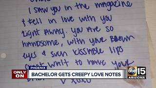 Valley man worried over creepy love notes - Video