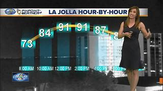 Record heat in San Diego for third day in a row - Video