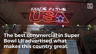 All-american Company Takes The Cake For Best Super Bowl Ad - Video
