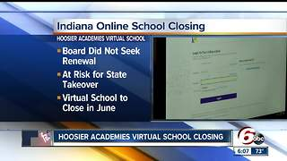 Hoosier Academies online school closes - Video
