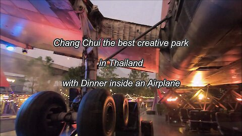 ChangChui is the best Creative park in Thailand