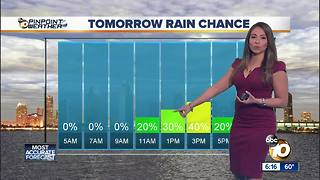 10News Pinpoint Weather with Meteorologist Angelica Campos - Video