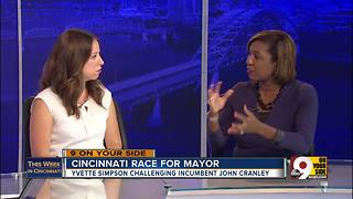 This Week in Cincinnati: Councilwoman and mayoral candidate Yvette Simpson on development, abatements - Video