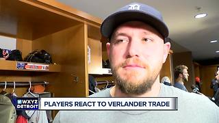 Tigers clubhouse reacts to Verlander being traded - Video