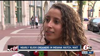 Nearly 18K Dreamers in Indiana watch and wait - Video