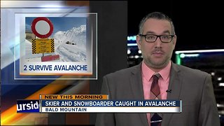 Two injured after Sun Valley avalanche