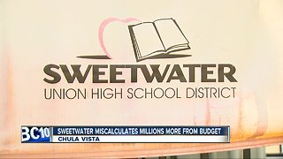More budget issues surface for Sweetwater Union High School District