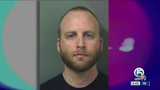 West Palm Beach police officer arrested, charged with grand theft - Video