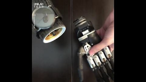 How To Put On A Watch: Bionic Style 🤖