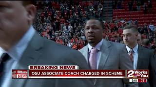 OSU Assistant Coach Lamont Evans charged in corruption scheme - Video