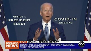 President-elect Biden briefing on coronavirus task force