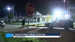Gun shots fired across the street from Custer Stadium during football game