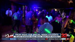 Prom night for special needs students - Video