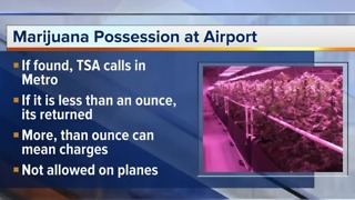 Clearing up confusion about marijuana at the airport