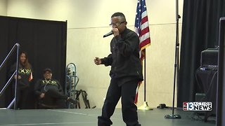 At-risk teens shine at talent show in Las Vegas - Video