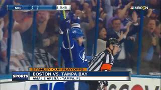 Resilient Tampa Bay Lightning rebound to beat Boston Bruins 4-2 in Game 2