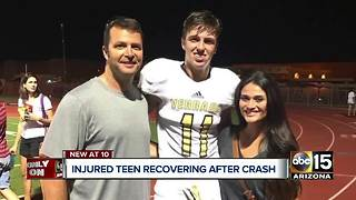 Valley teen recovering after serious crash in Goodyear - Video