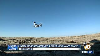 Residents worry about noise from new navy planes